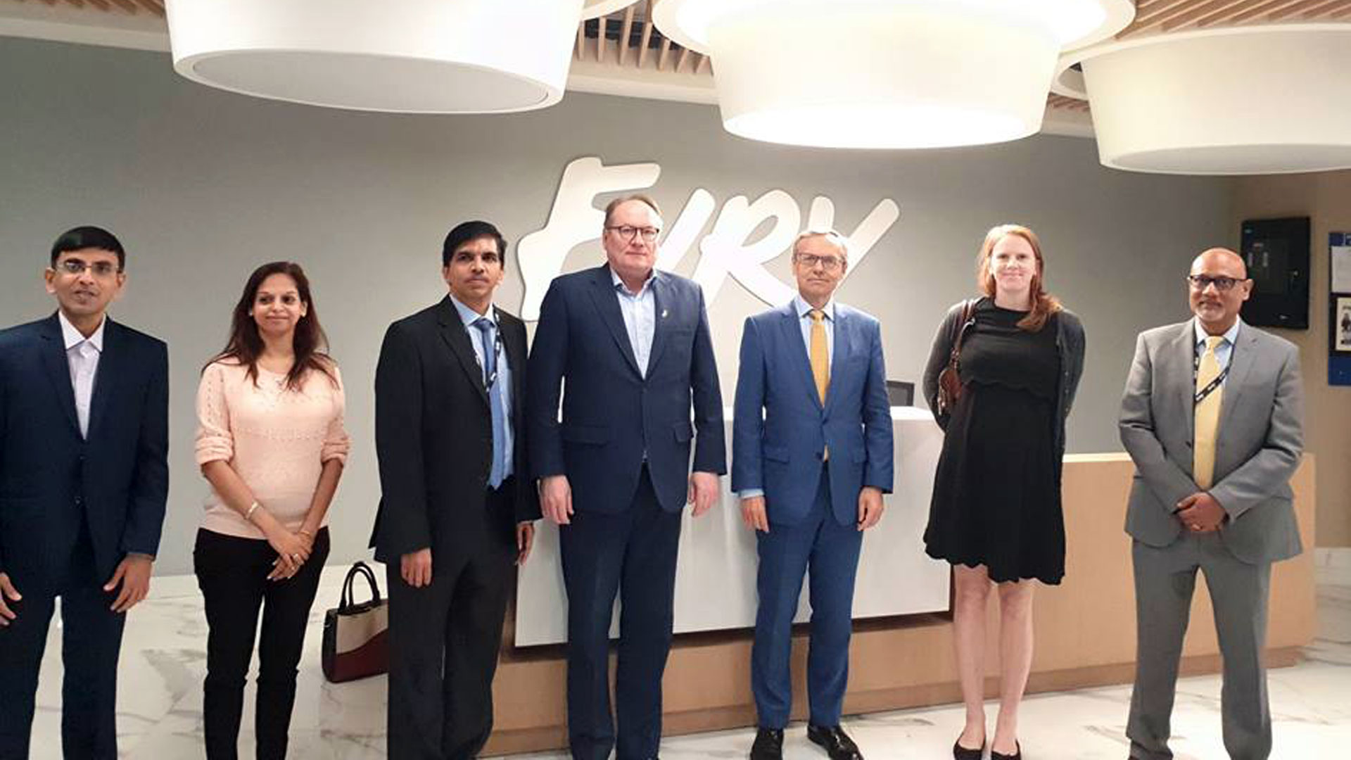 NORWAY'S AMBASSADOR TO INDIA VISITS EVRY IN BANGALORE