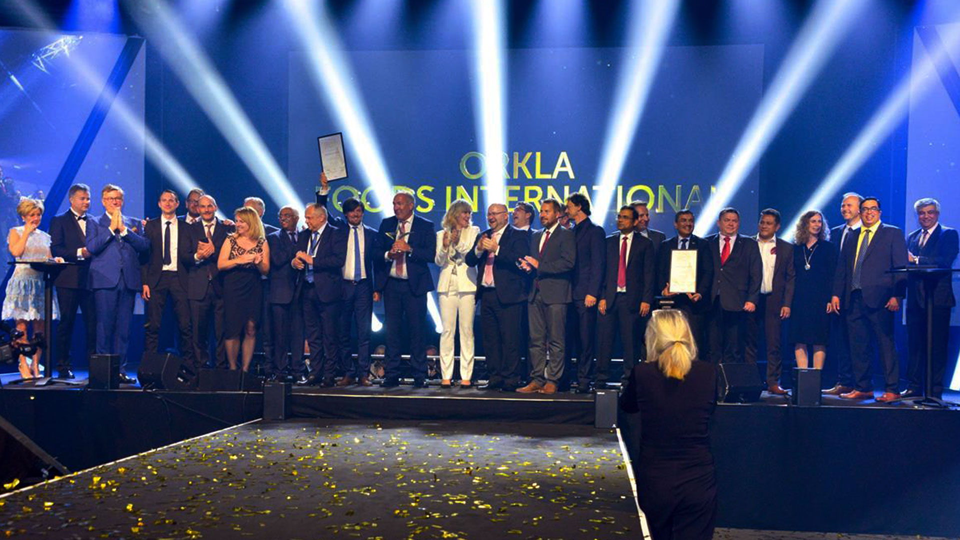 MTR FOODS, FELIX AUSTRIA AND ORKLA FOODS CESCKO A SLOVENSKO WIN THE PRESTIGIOUS ORKLA GROWTH PRIZE AS A RECOGNITION FOR FANTASTIC DEVELOPMENT