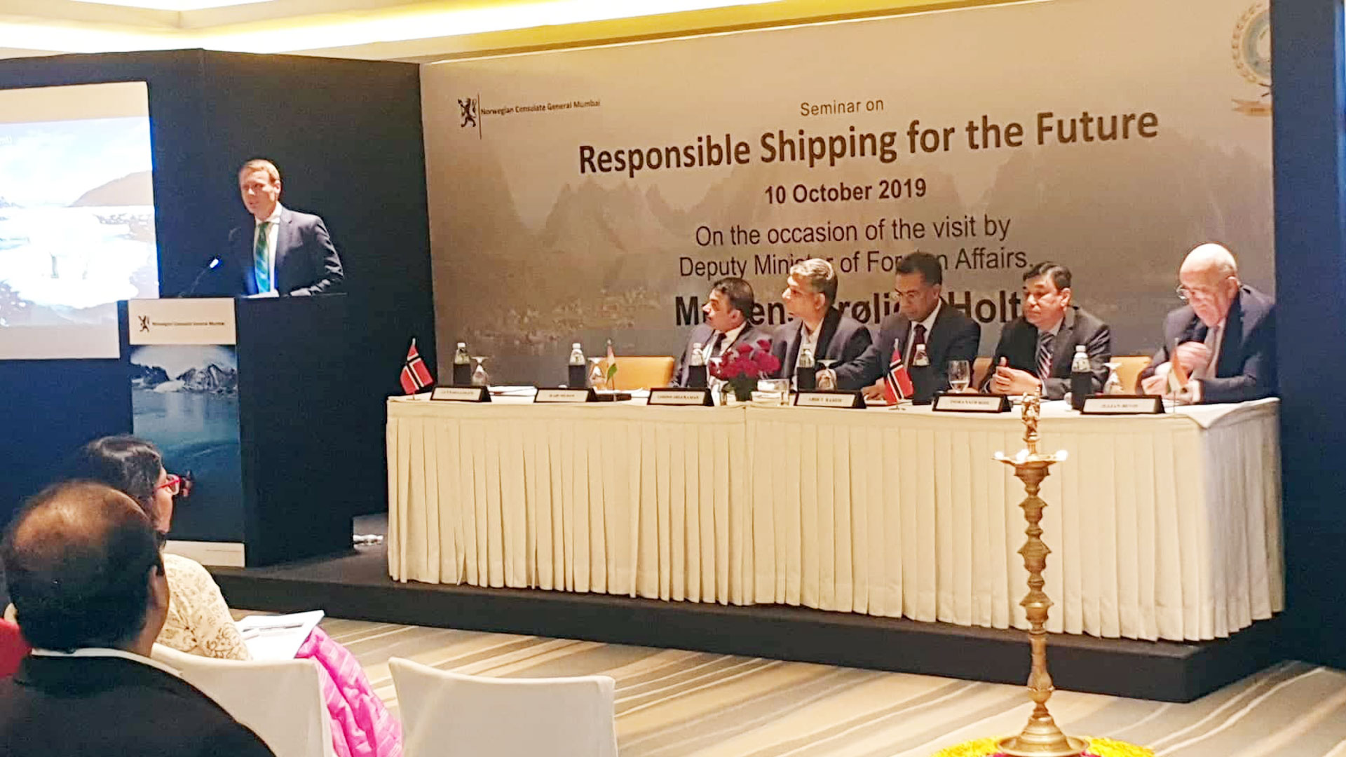 SEMINAR ON RESPONSIBLE SHIPPING FOR THE FUTURE