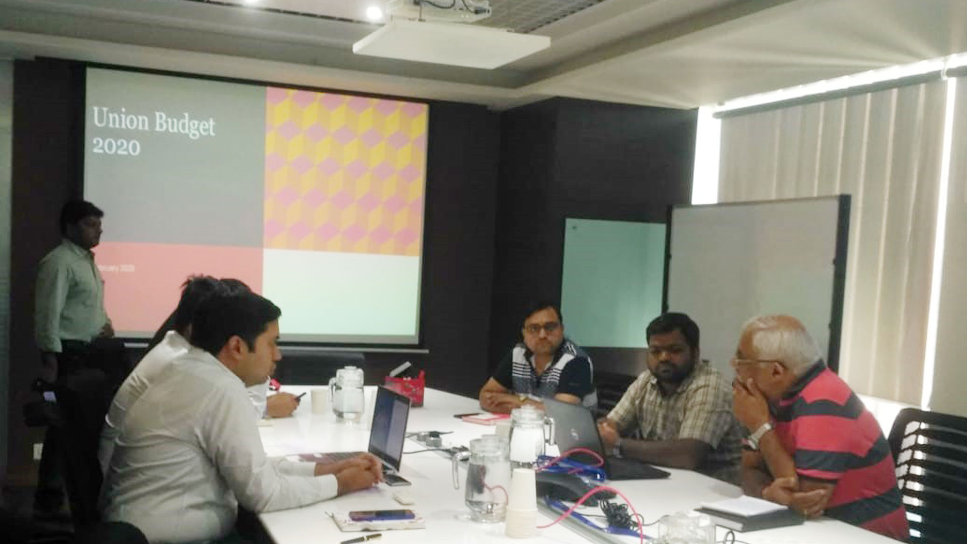NBAI CONDUCTED UNION BUDGET & IND AS SESSION